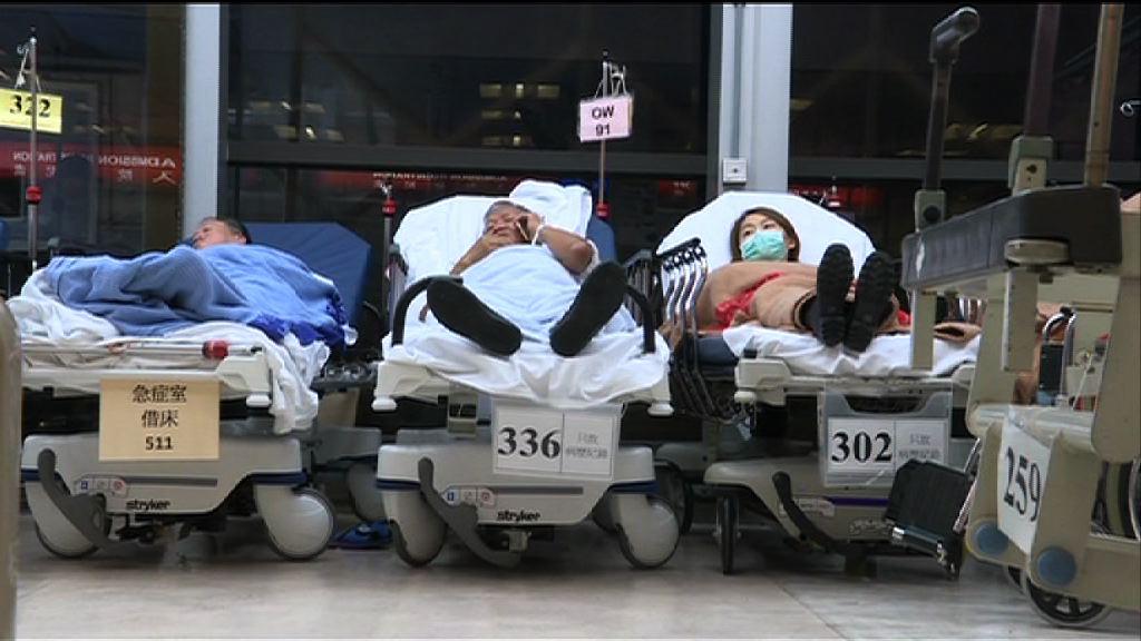 醫管局冬季流感高峰期加開700張病床