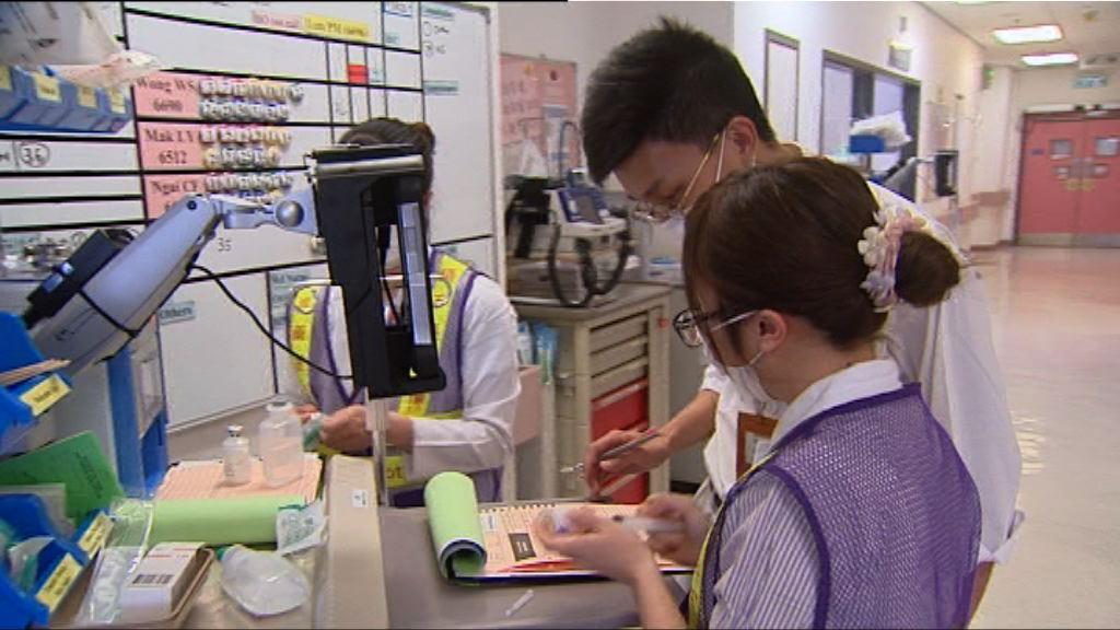 醫管局1.7萬員工五月補發增薪點