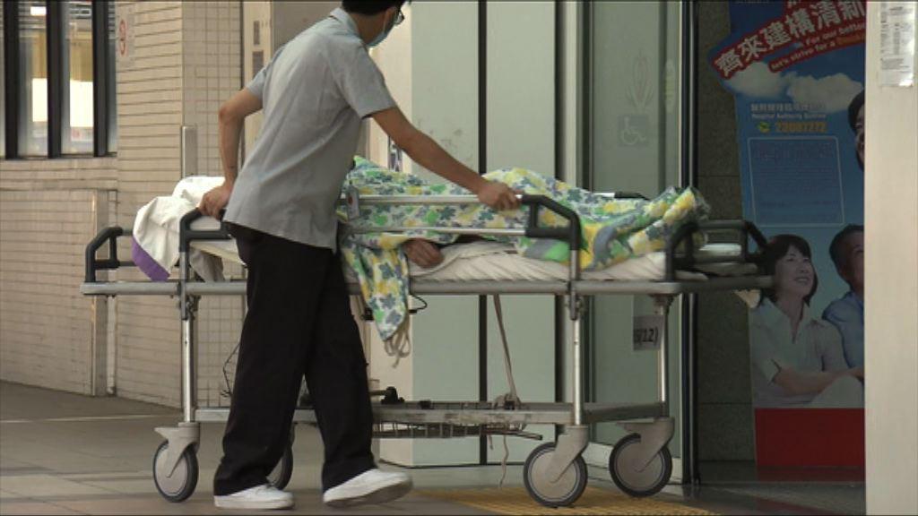 公立醫院內科病床佔用率回落至百分之99
