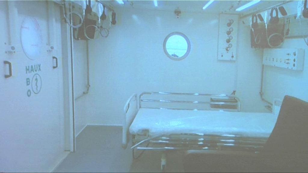 東區醫院增設高壓氧氣治療中心 明年運作