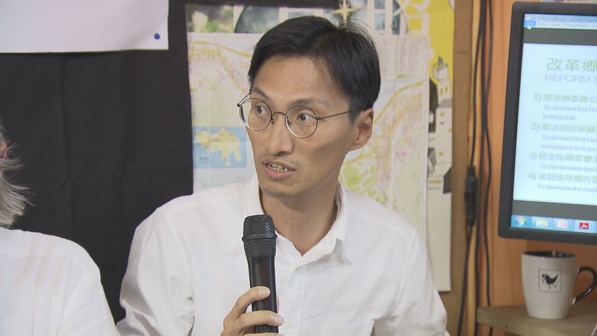 選舉主任要求朱凱廸回應香港主權問題