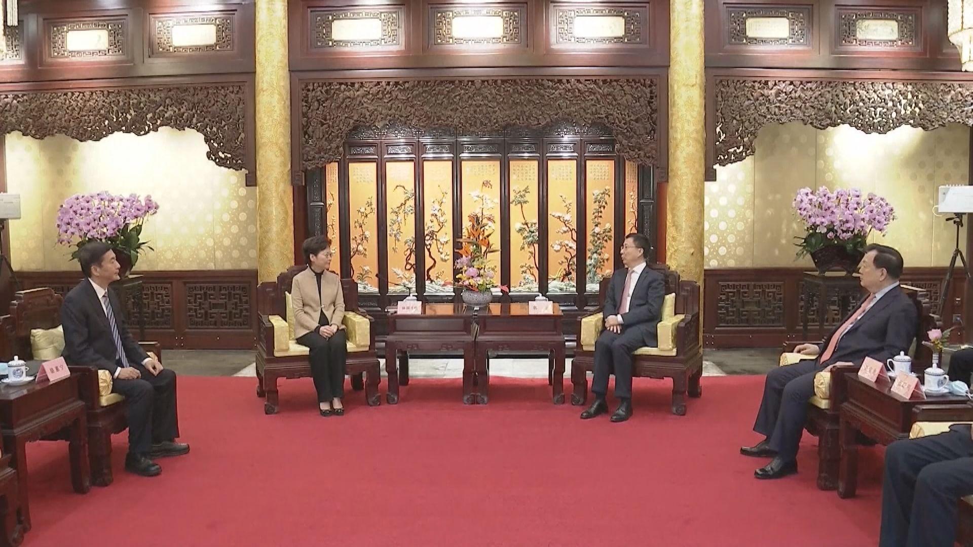 韓正:要就完善香港選舉制度做好本地立法工作