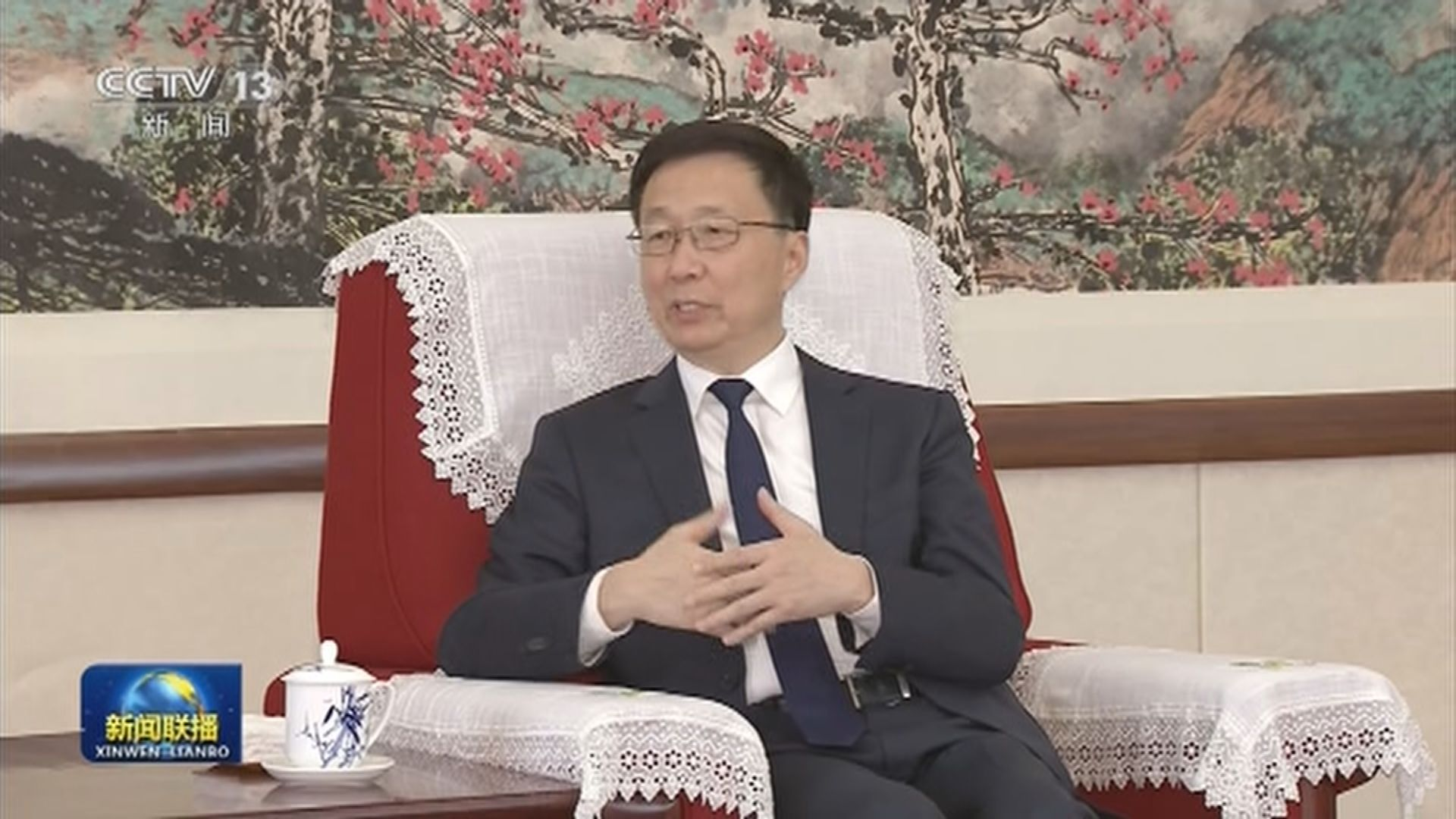 韓正:規劃建設好河套深港科技創新合作區