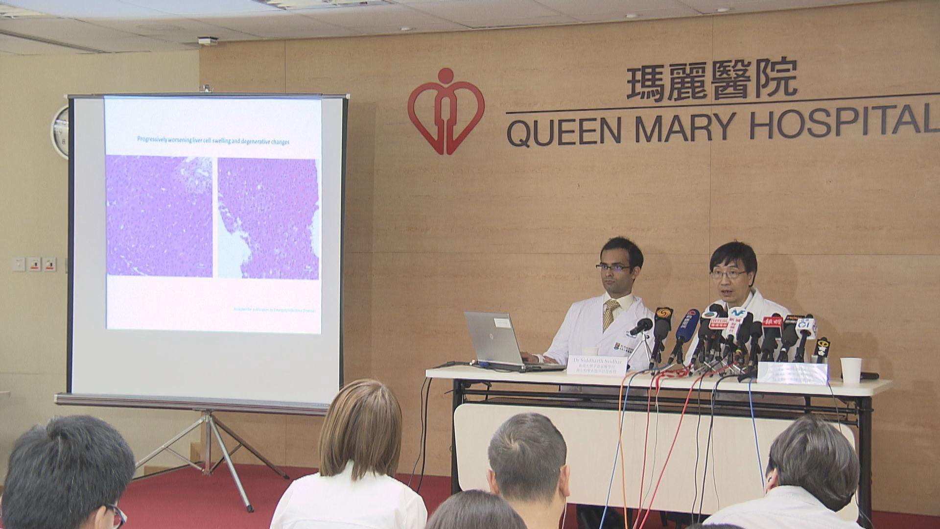 本港再發現一宗老鼠傳人戊型肝炎