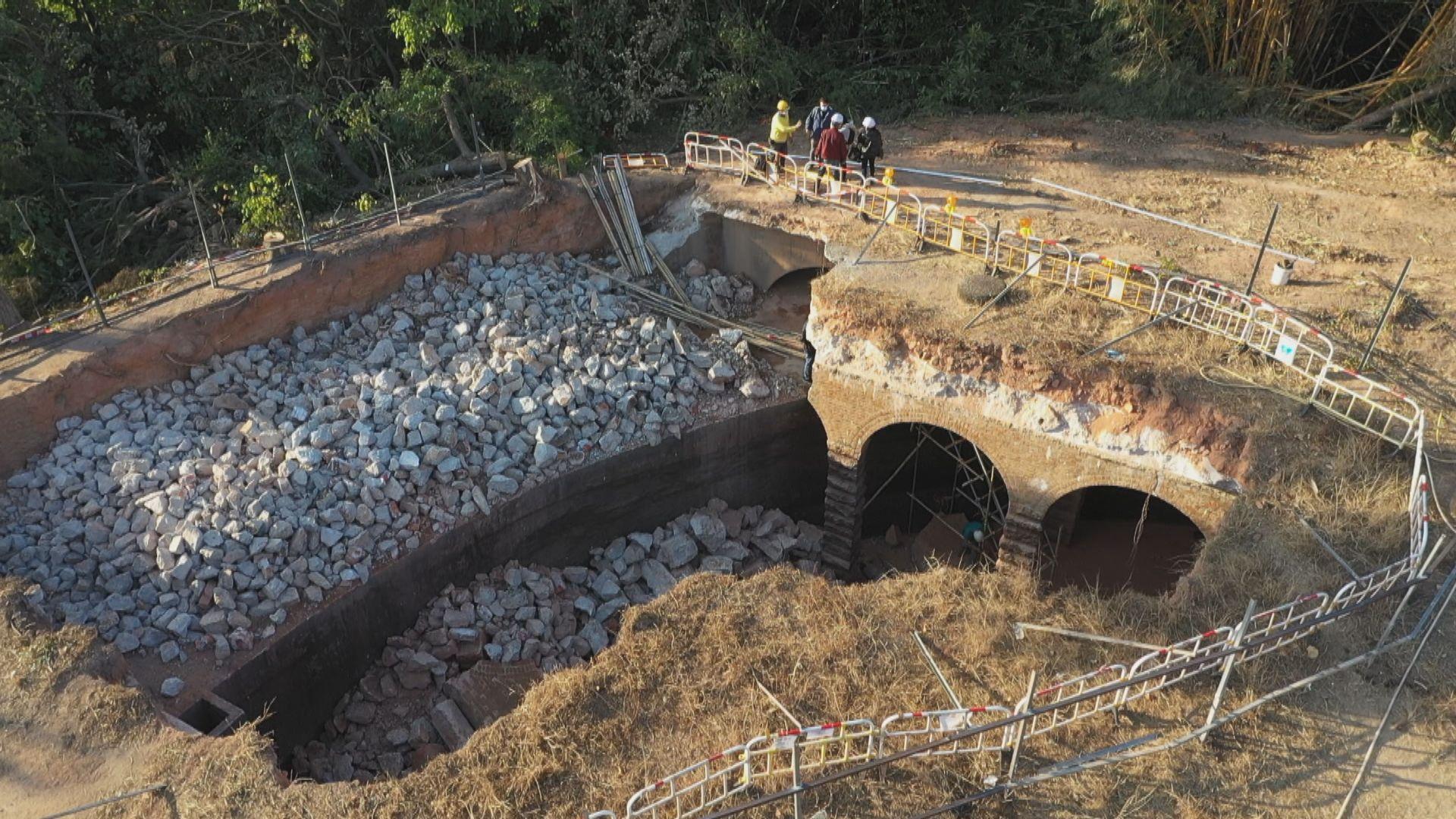 有團體倡主教山配水庫評為法定古蹟