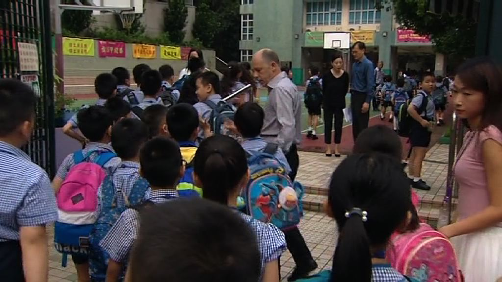 興德學校開學36名學生缺席