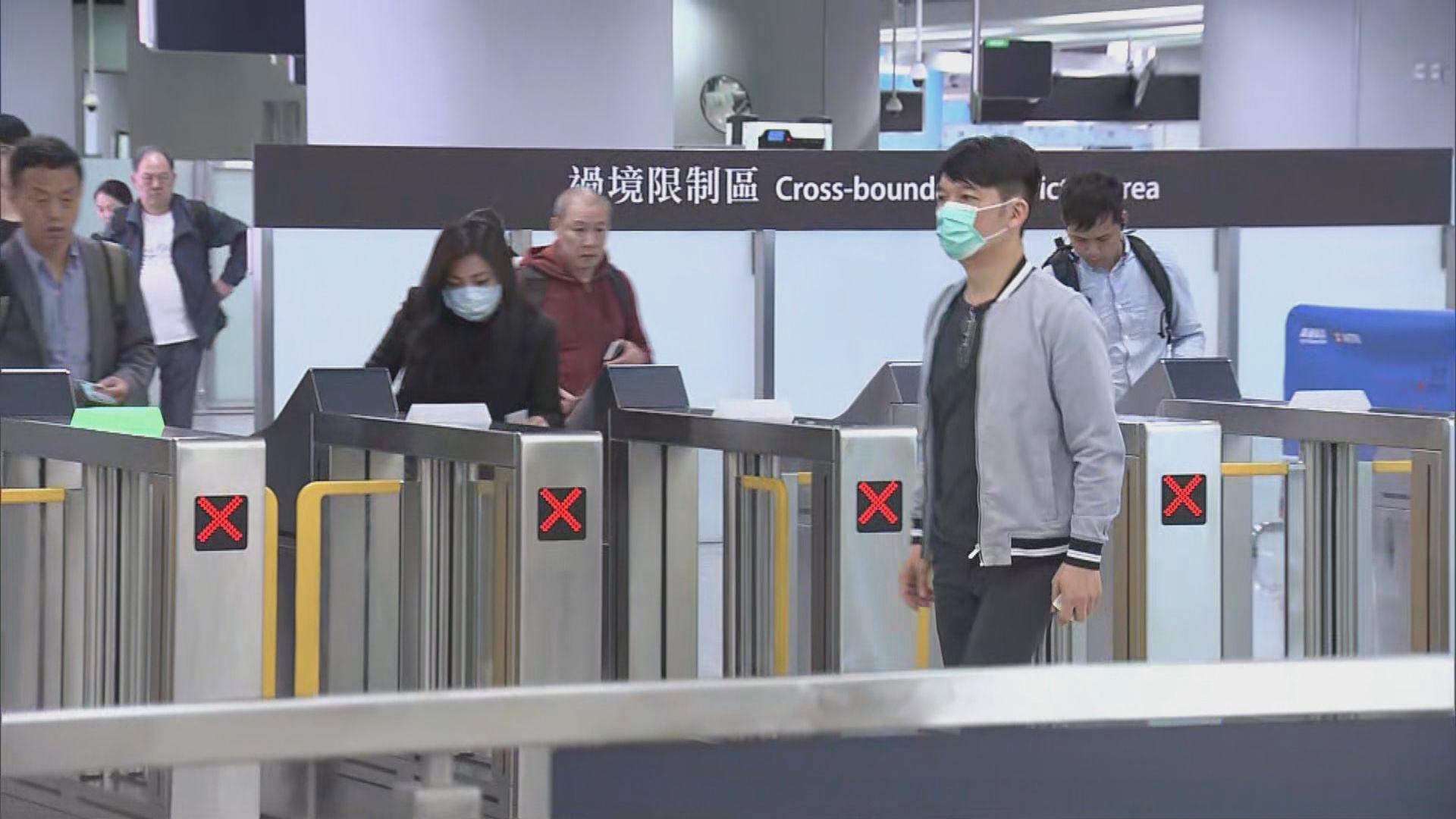 患者乘高鐵由武漢經深圳轉乘列車到香港