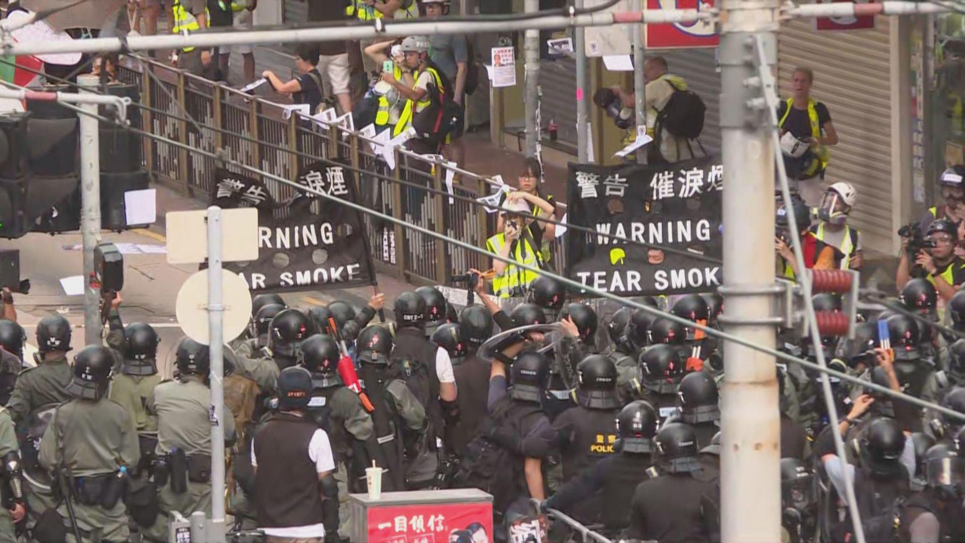 多國對香港情況表示關注