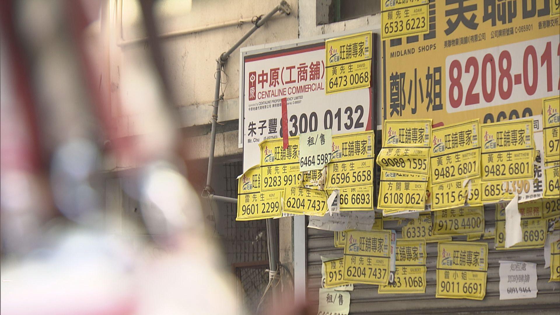 十月零售銷售跌幅收窄 政府:疫情或令經營環境再轉差
