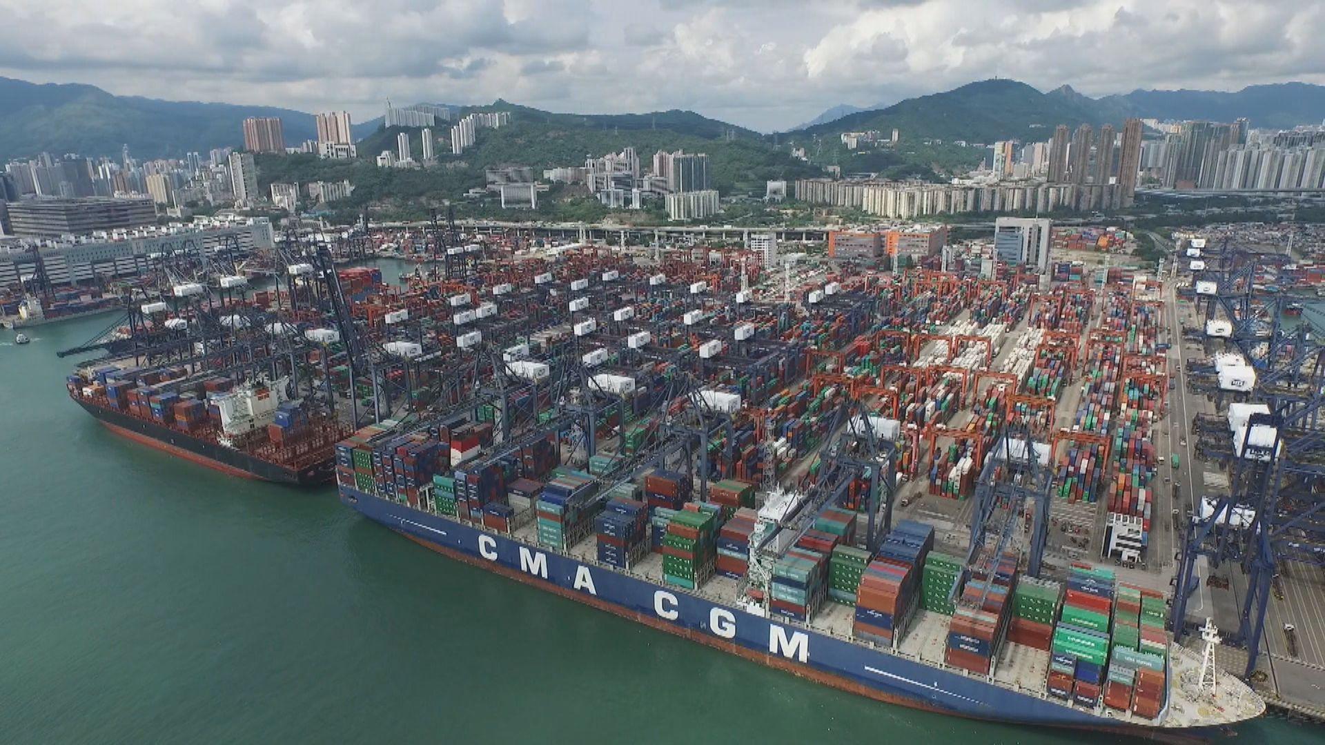 本港上月出口及進口跌幅均擴大 遜預期