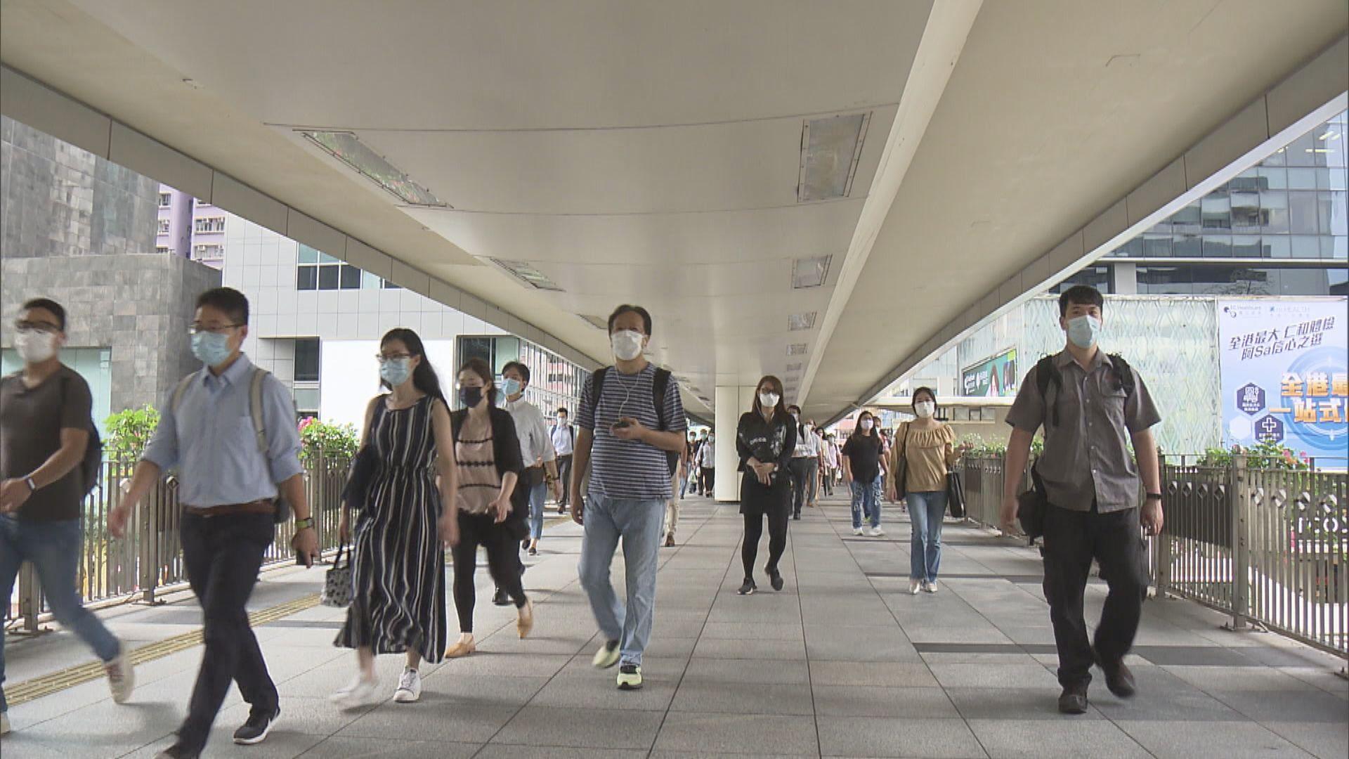 【見一年低】本港失業率進一步回落至5%