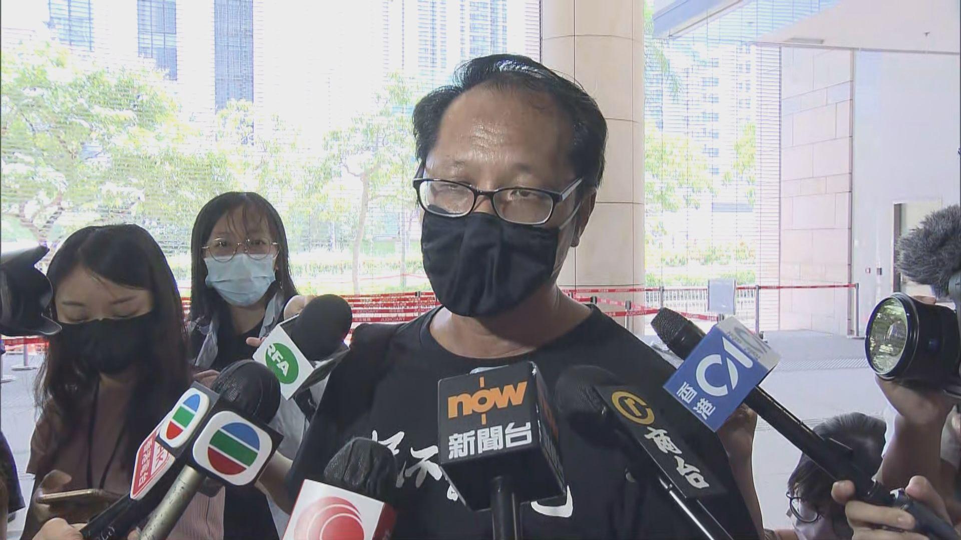 蔡耀昌:支聯會目前狀態無法委派代表出席審訊