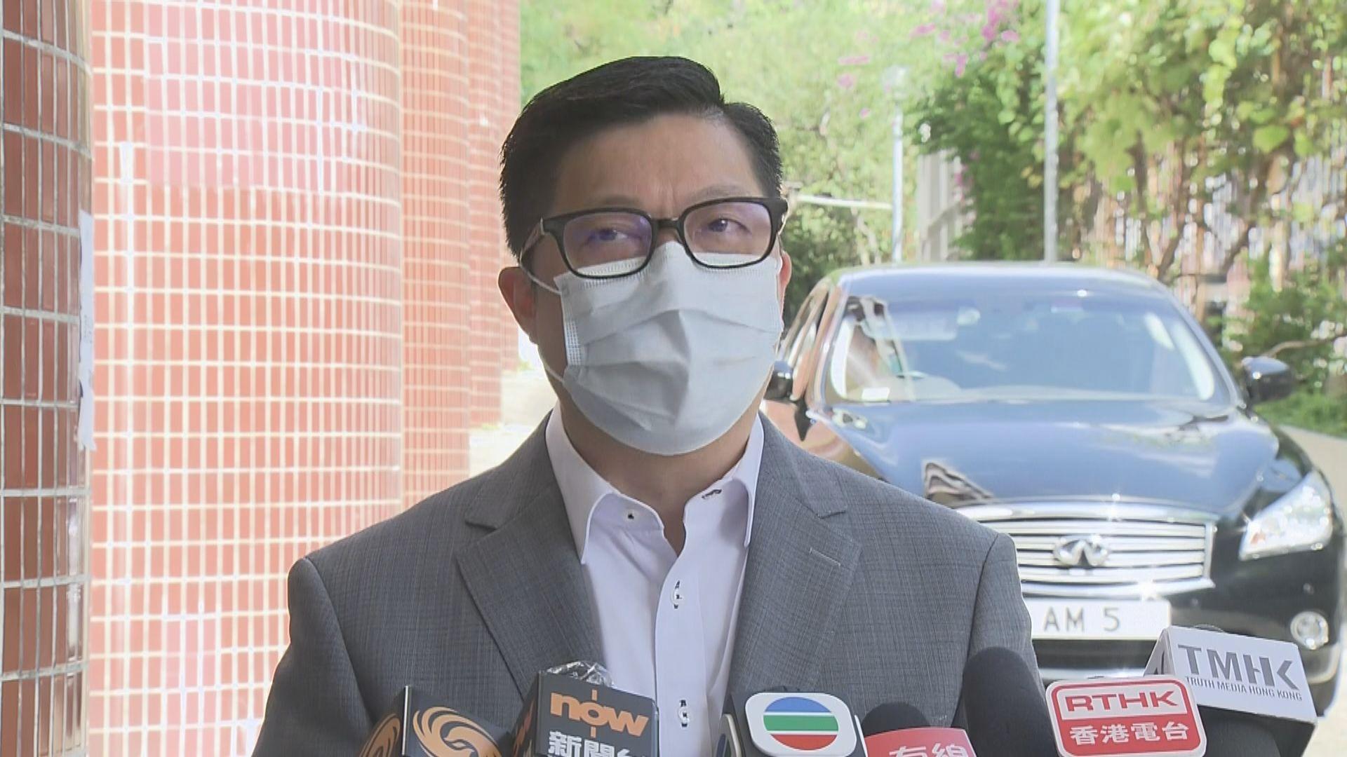 鄧炳強:解散非可免責 續考慮取消公司註冊