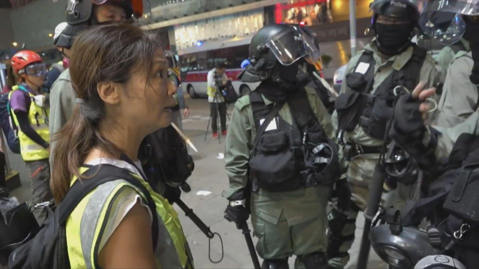 記協及攝記協促警方停止以禁蒙面法妨礙採訪