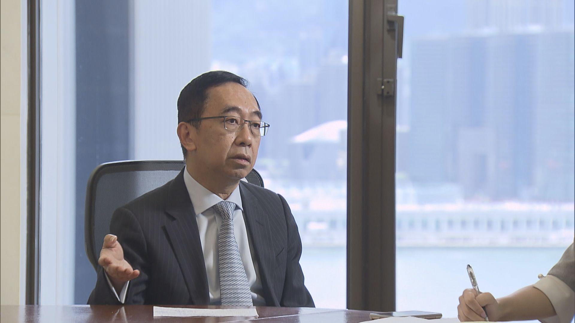 總商會梁兆基:港區國安法不影響本港競爭力