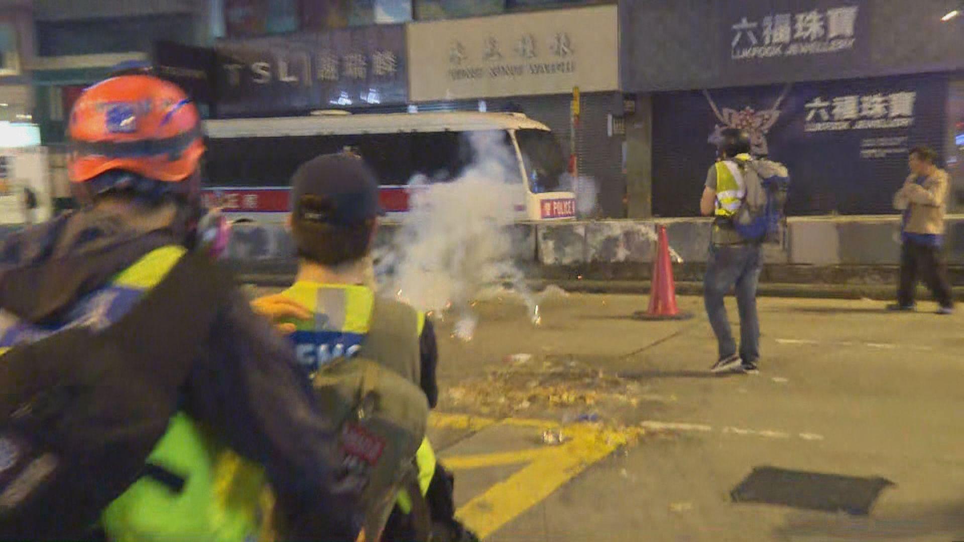 記協促警方立即停止阻礙採訪