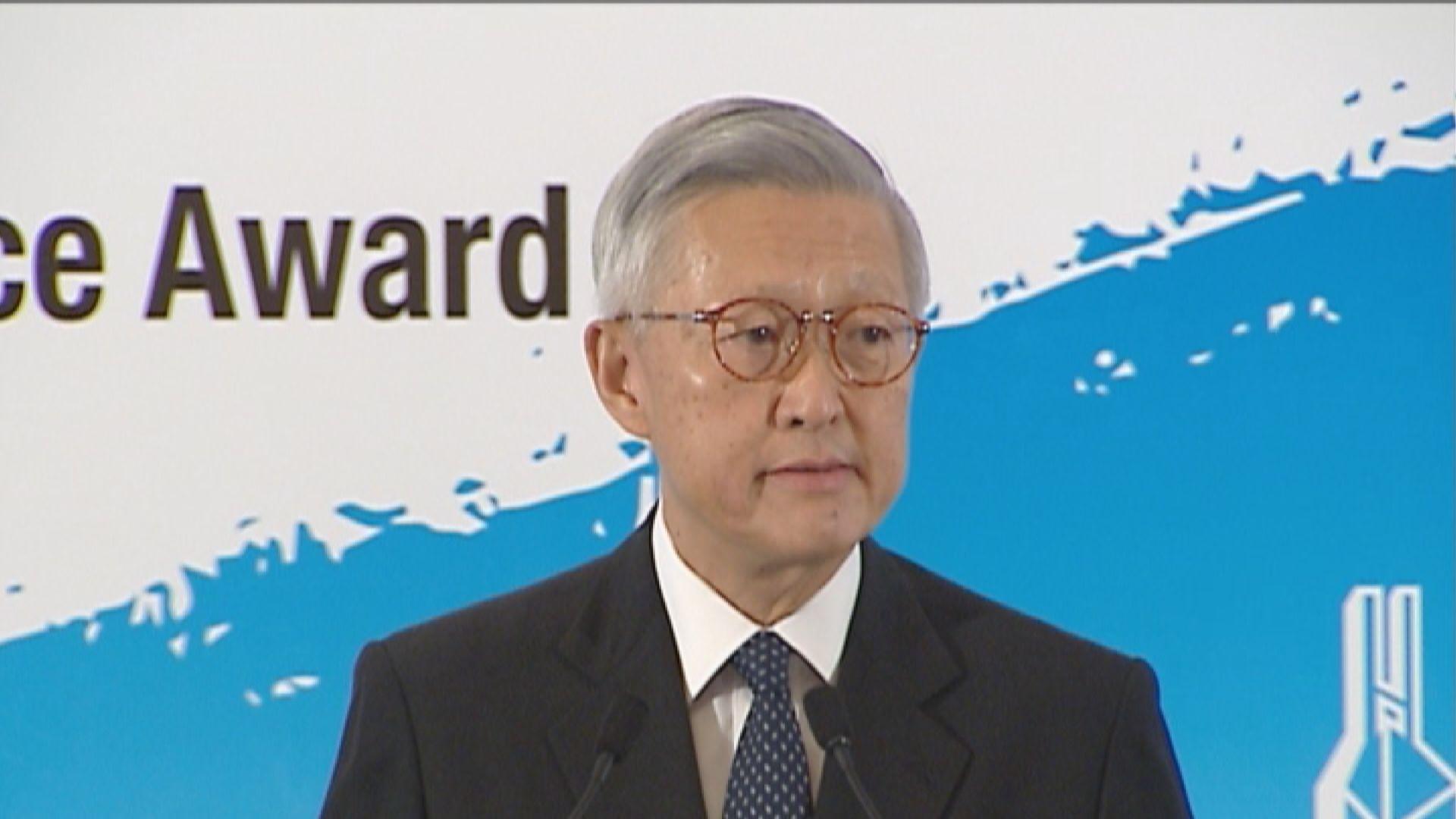李國能:國安法案件內地審理損香港獨立司法權