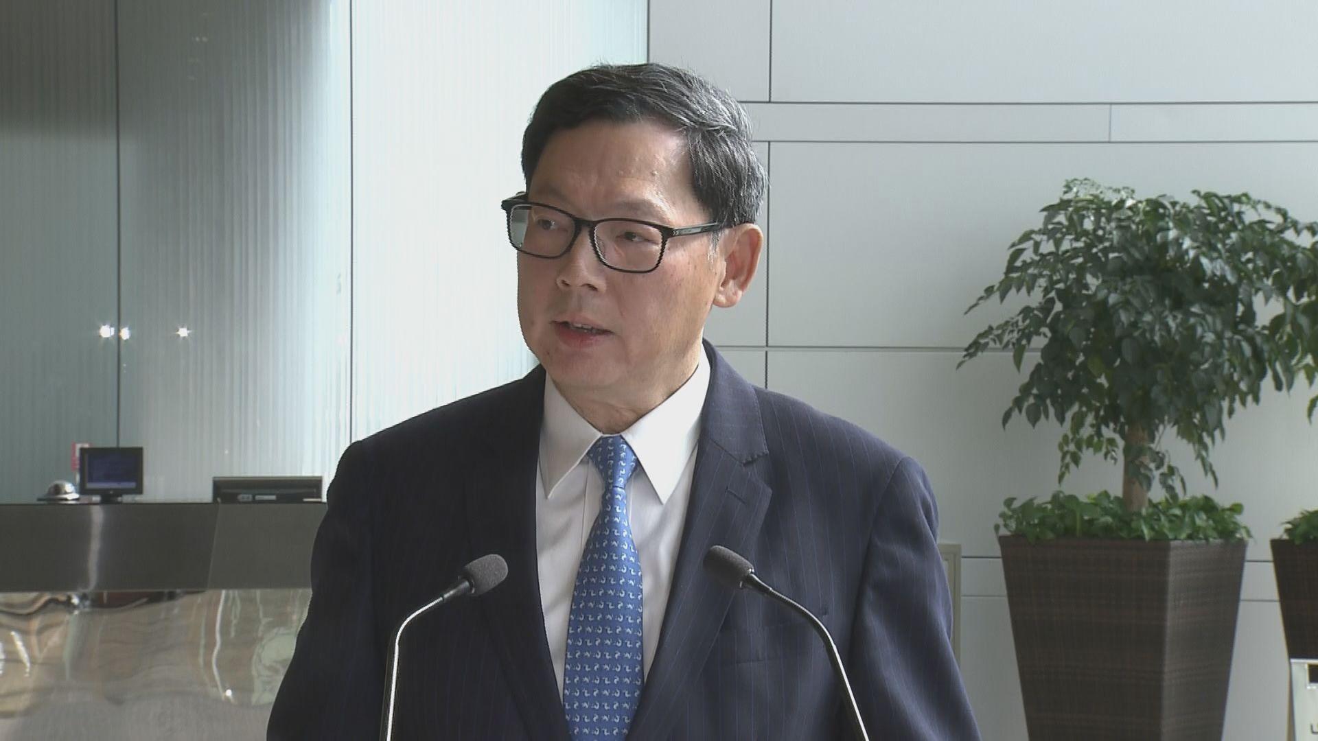 陳德霖:全球經濟情況為港帶來很大不確定性