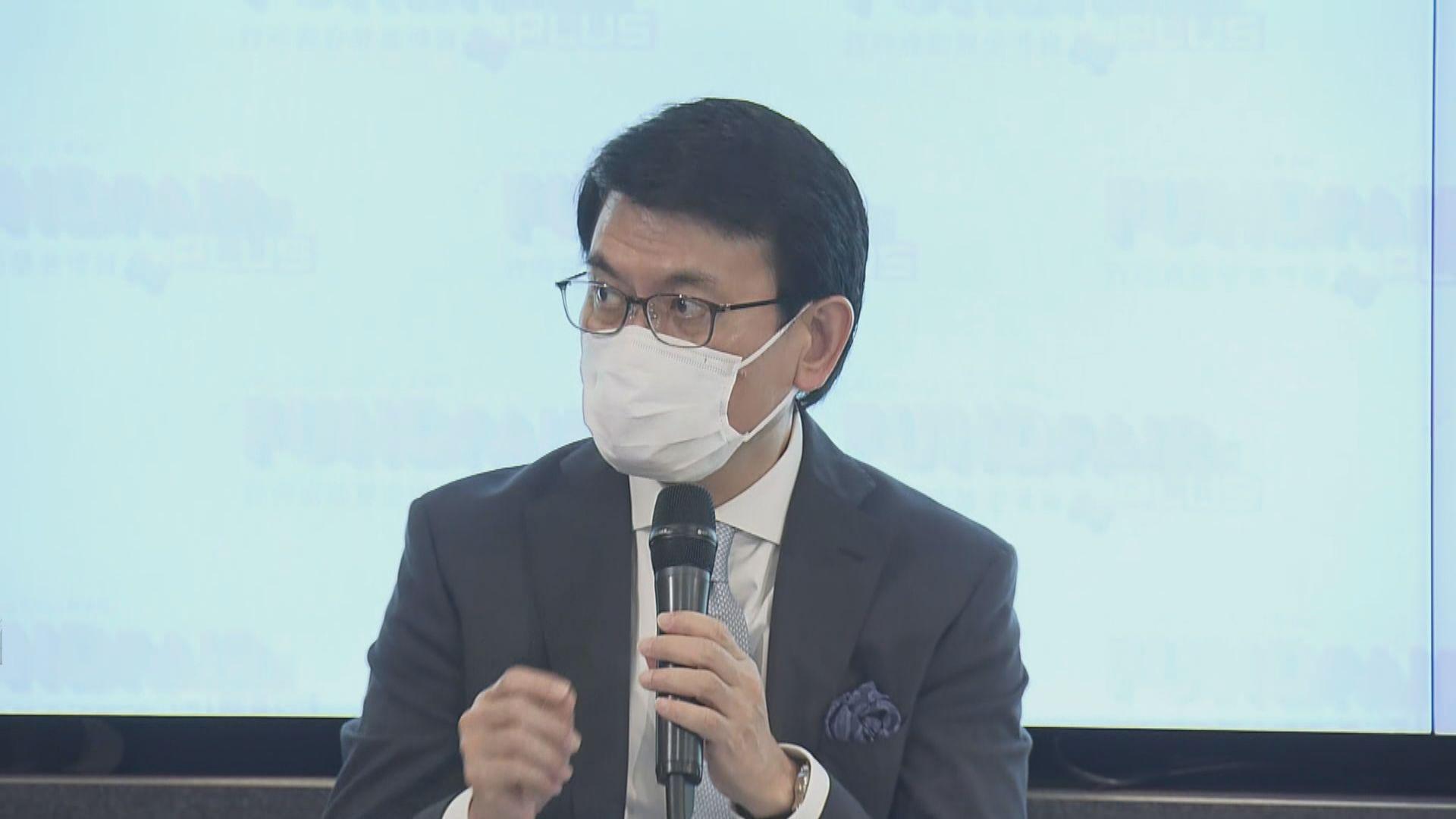 邱騰華:要透過不同資助基金幫助企業度過難關