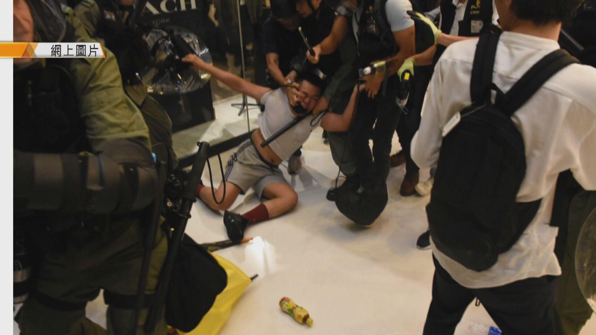咬斷警員手指為港大畢業生 涉嫌非法集結被捕