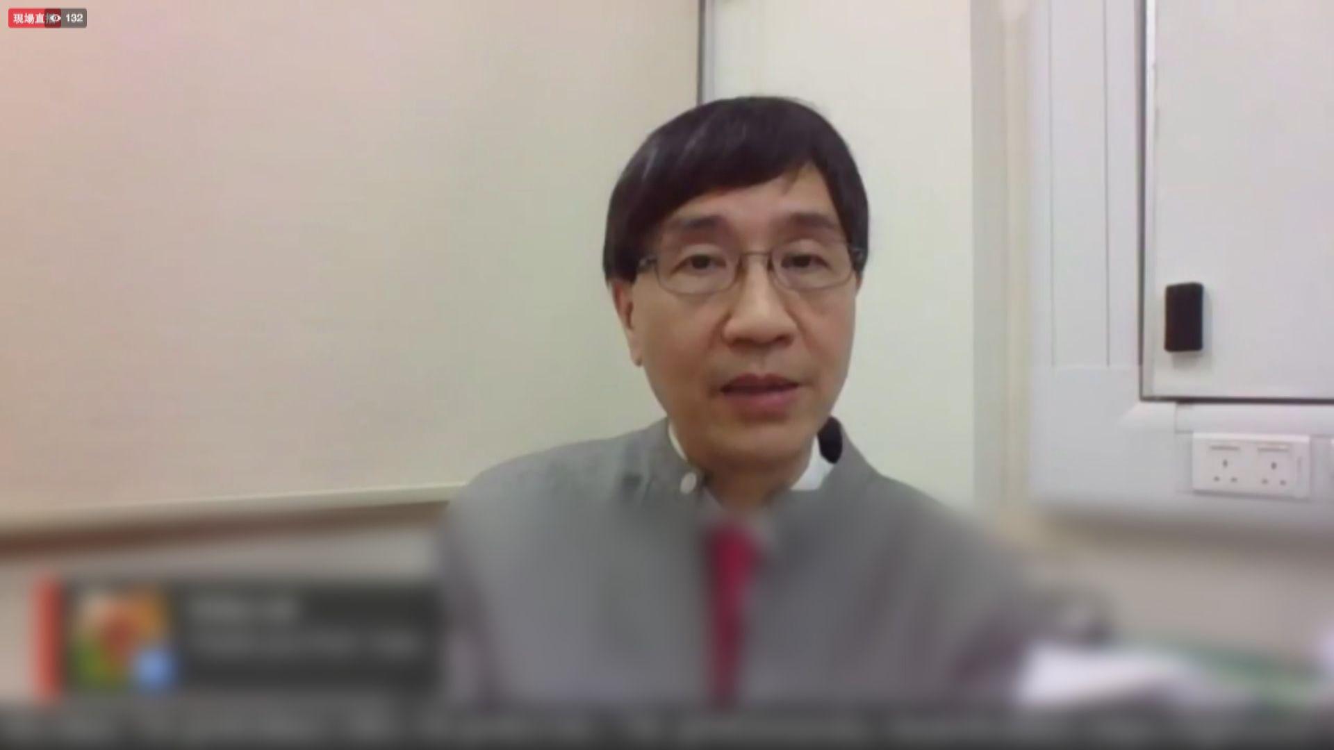 袁國勇:疫情穩定後學校可分階段復課