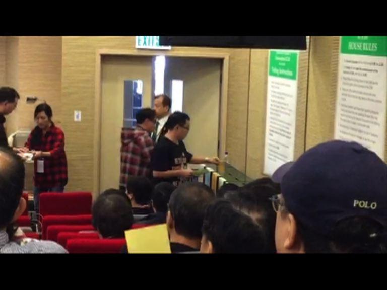 港大畢業生議會就李國章校委主席投票