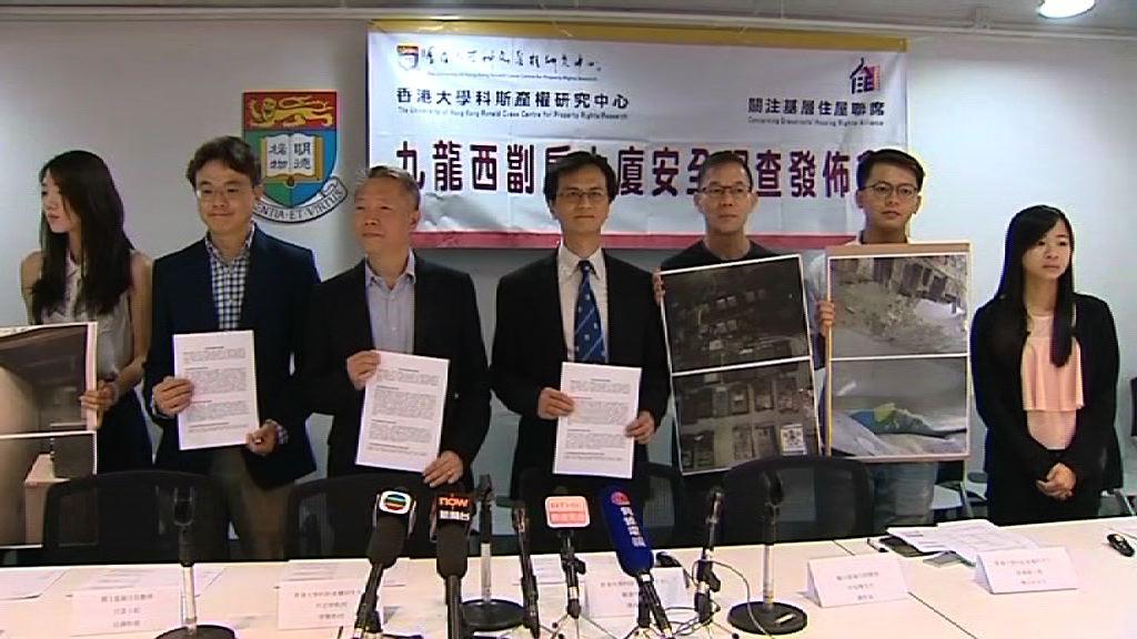 調查:九龍西舊樓多 劏房消防設施不足