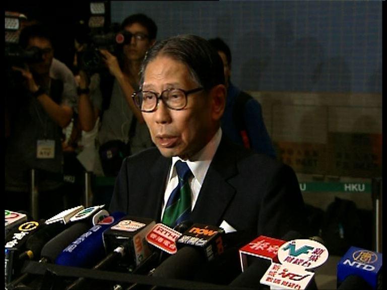 梁智鴻:毋須等待首席副校長任命