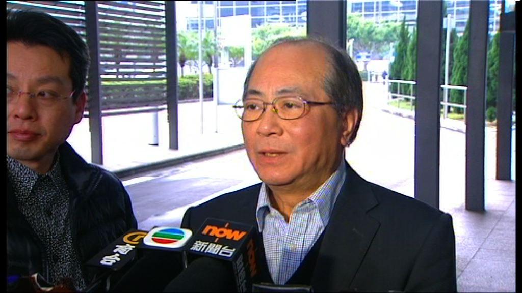 吳克儉強烈譴責港大學生圍堵校委