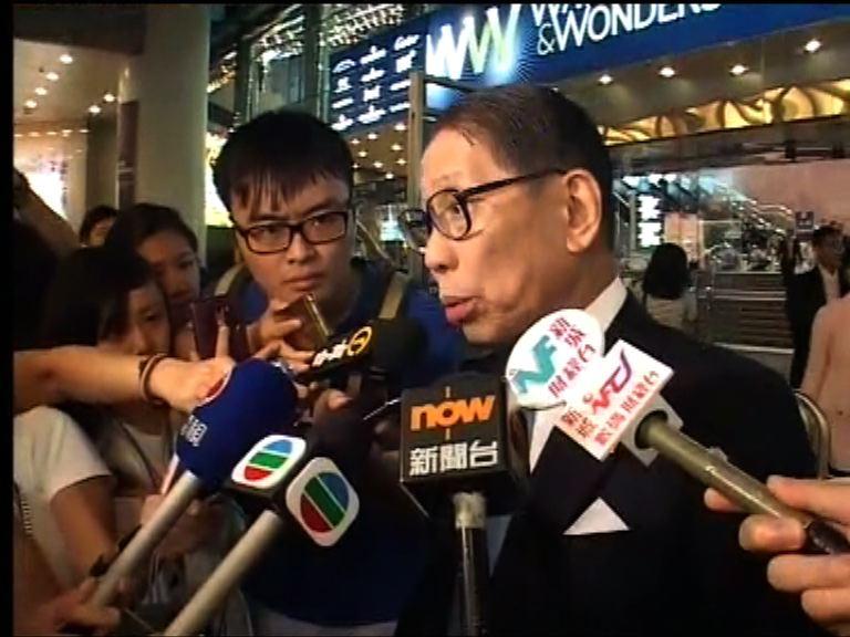 梁智鴻重申委員會有保密原則