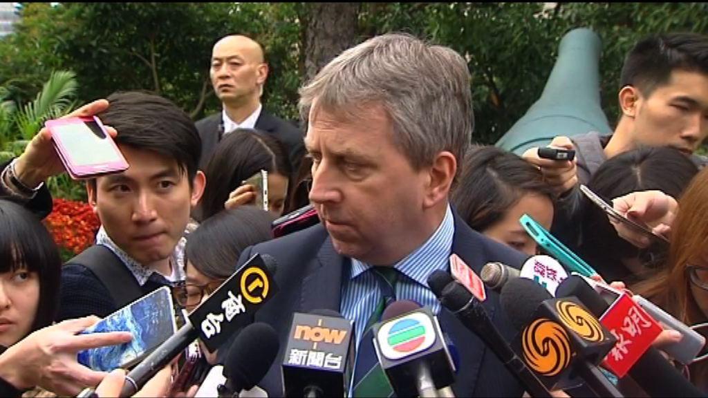 馬斐森:應校委要求 驅逐馮敬恩