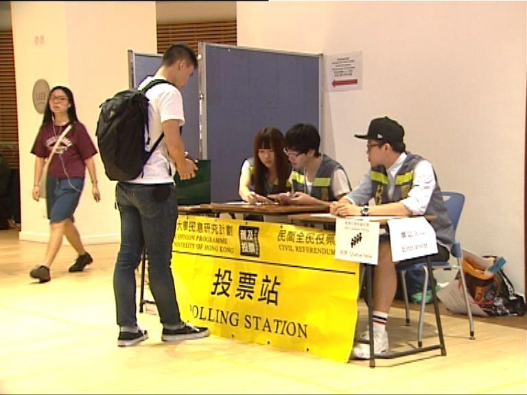 港大校友關注組就校委會議題發起投票