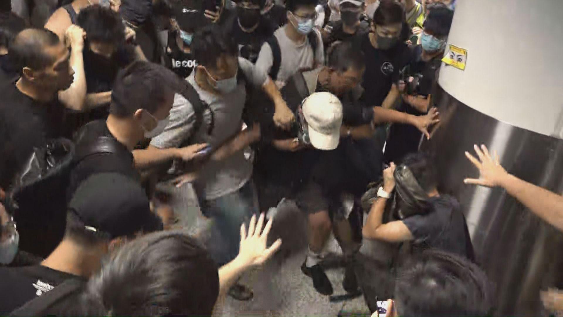 中聯辦:暴力分子行為與恐怖分子無異