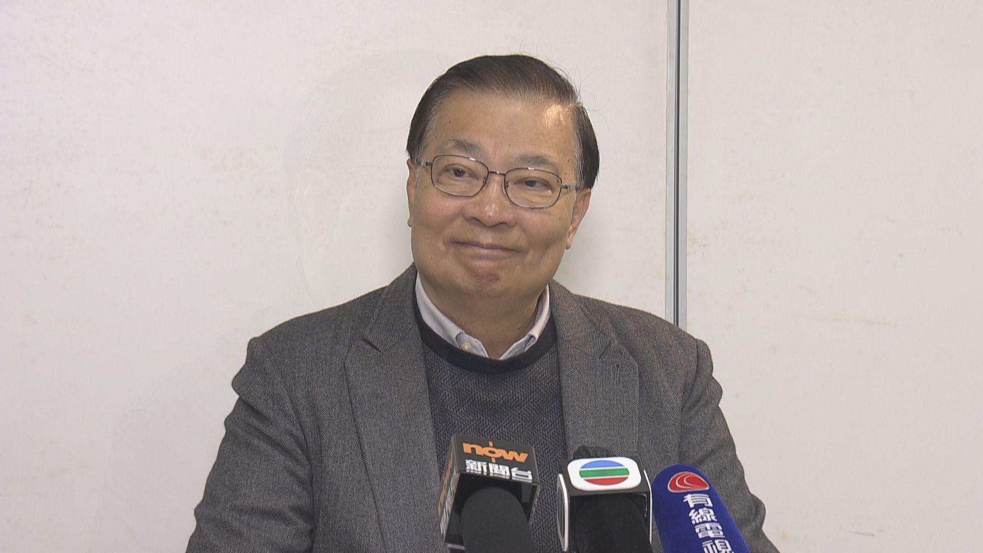 譚耀宗冀議員懸崖勒馬 不要令立法會癱瘓