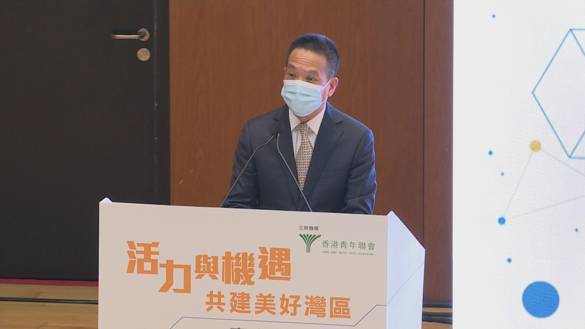 港澳辦副主任黃柳權繼續訪港行程出席青年活動