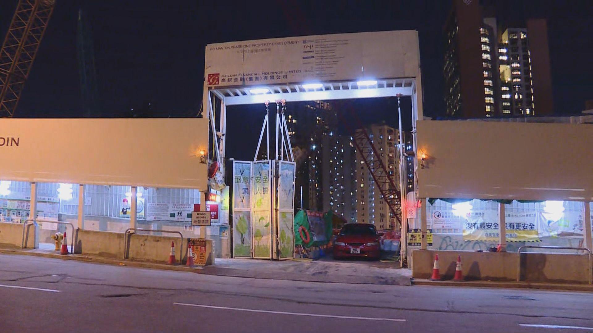 何文田港鐵站行人隧道沉降超標