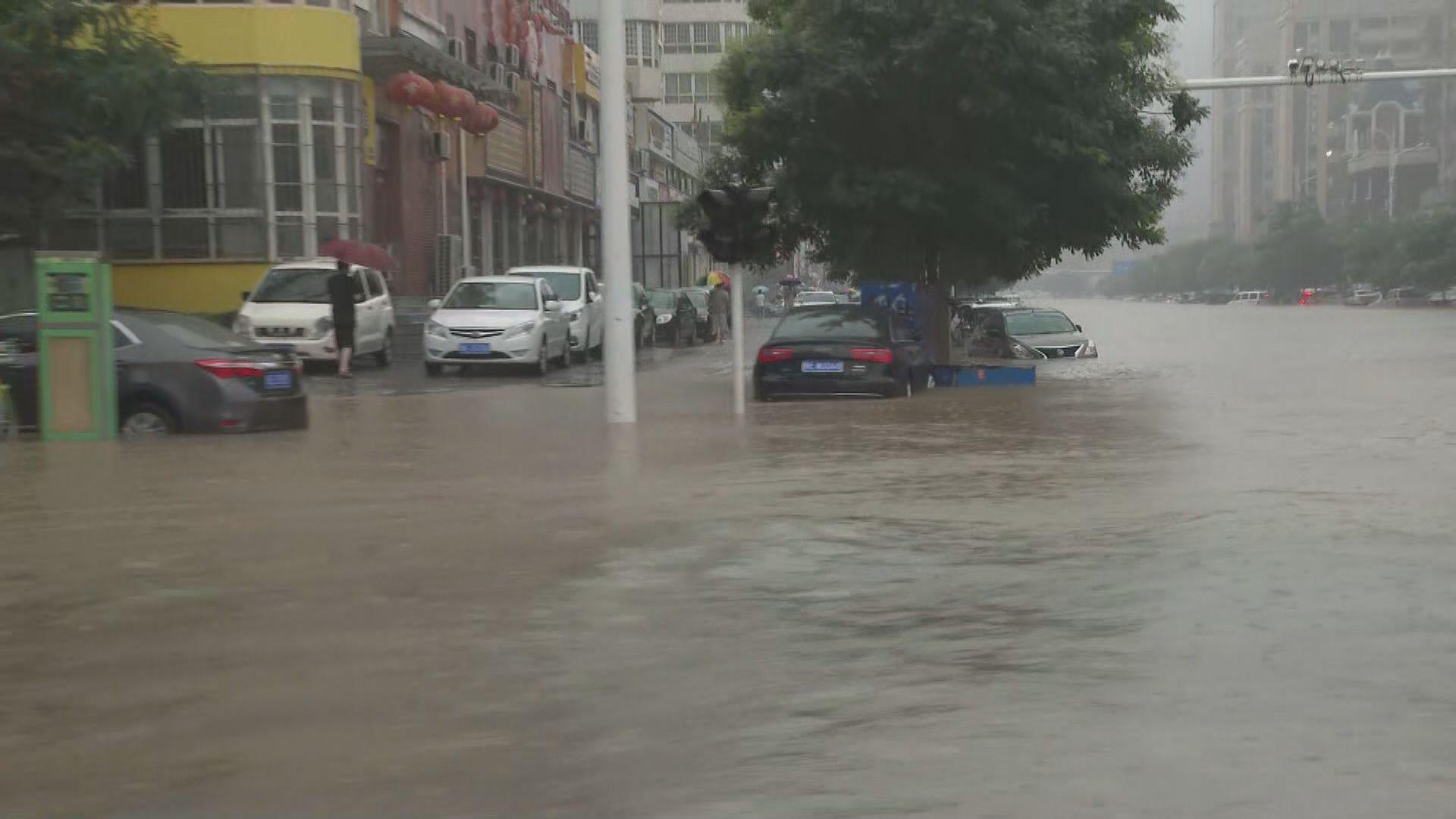 河南暴雨洪災造成最少33人死亡 安陽市多處淹水