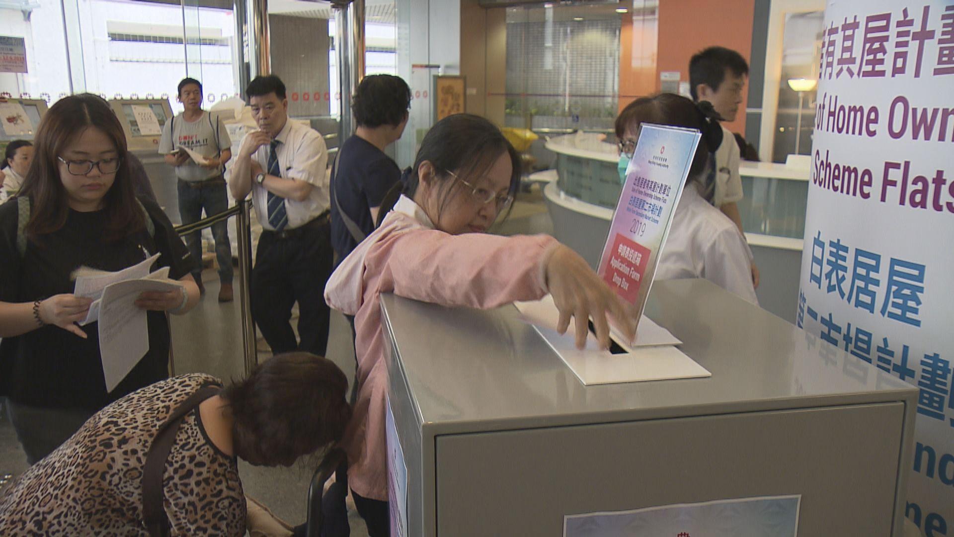 房委會累計收到19.5萬份居屋申請表