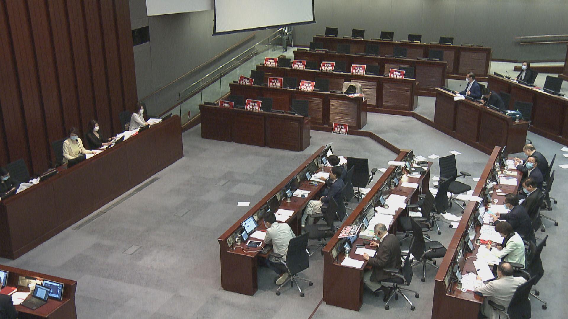 立法會內會李慧琼主持會議 完成處理所有議程