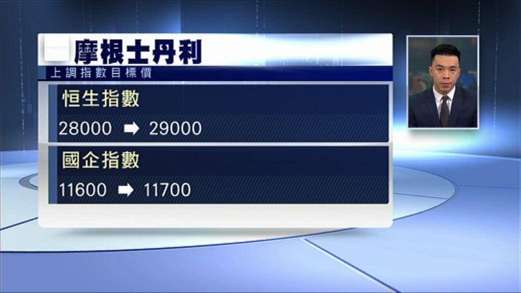 【美元轉弱】大摩:資金正流入香港