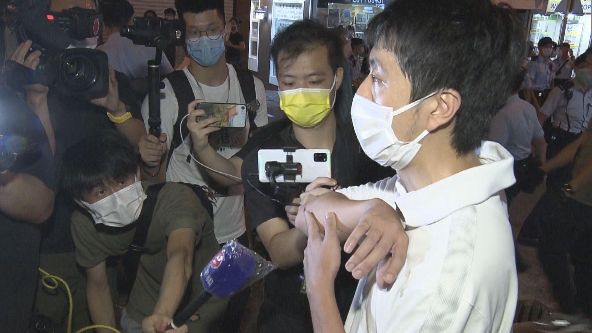 許智峯:警指私家車司機及乘客均為記者 不透露屬哪間報館