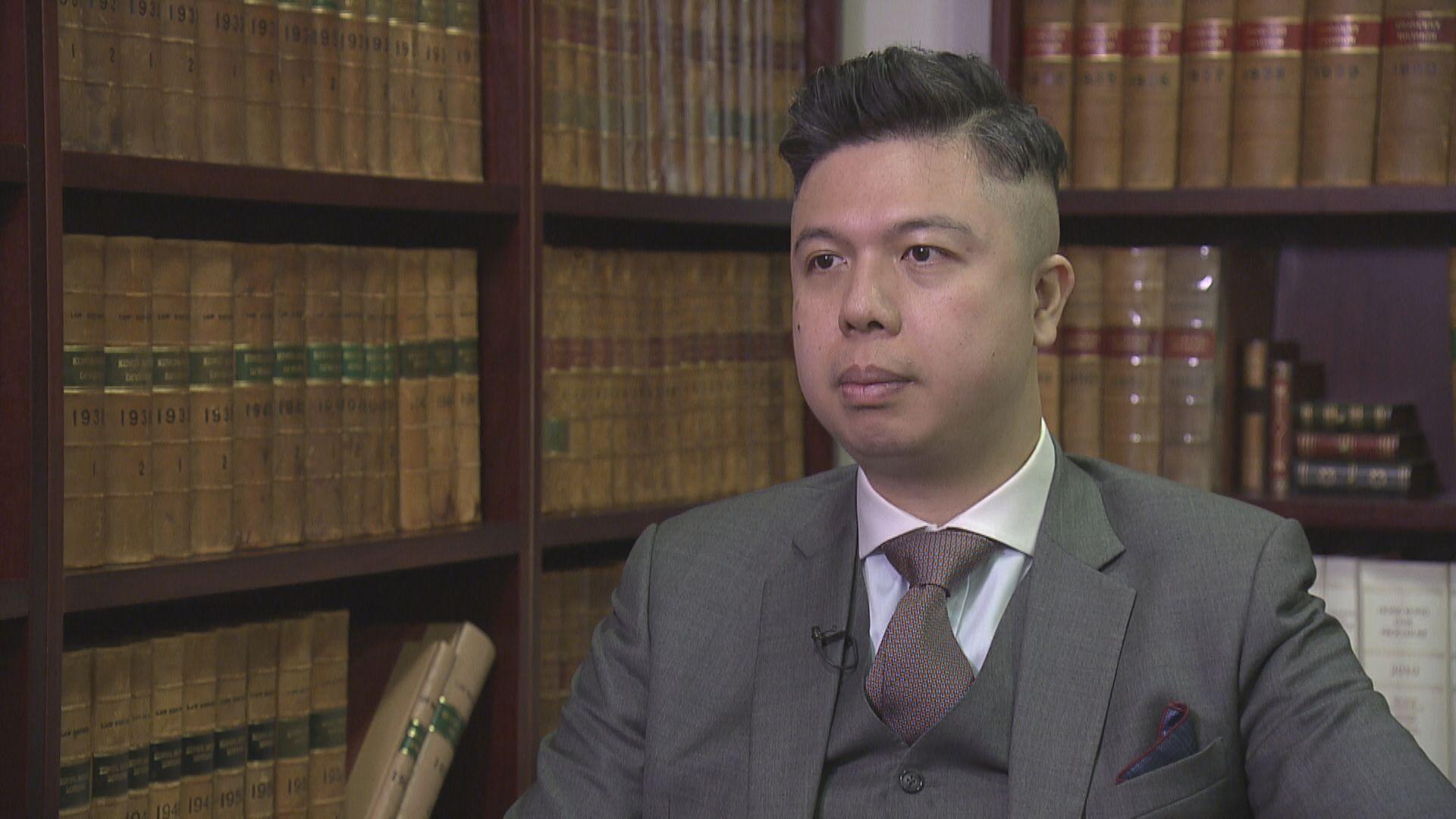 大律師:許智峯不涉洗黑錢 警方應交代凍結戶口理據