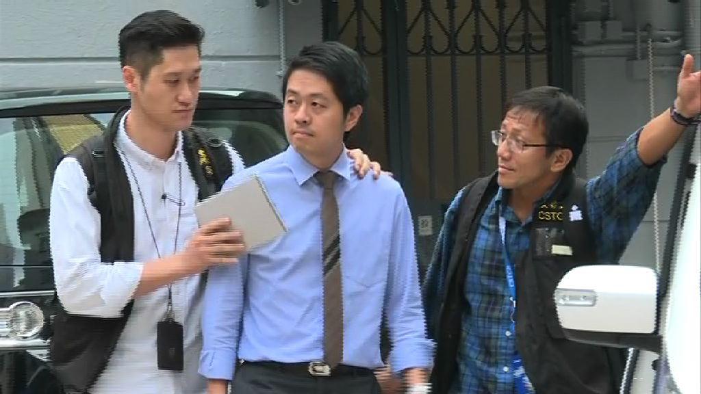 許智峯仍被扣查 共涉及四項罪行