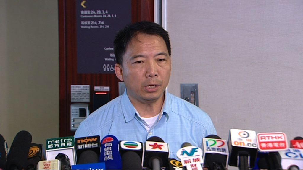 胡志偉:有民主黨黨友向許智峯提供協助