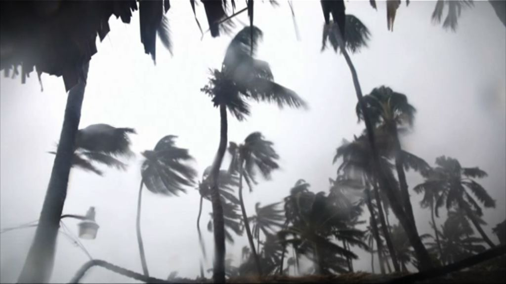 瑪麗亞增強為三級颶風 吹襲多米尼加共和國