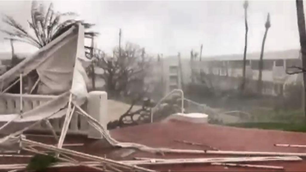 瑪麗亞吹襲加勒比海地區 增至10死