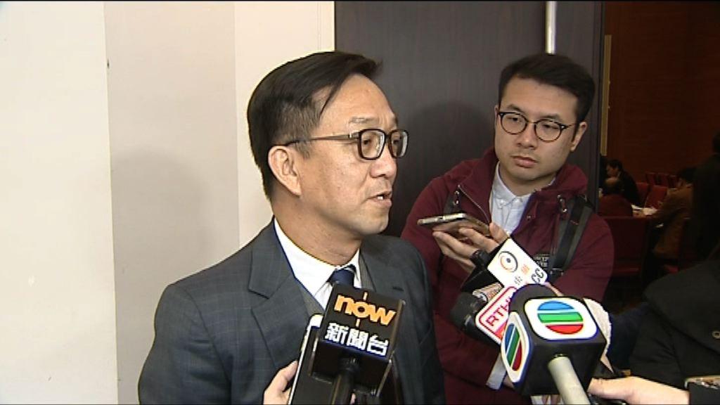 劉業強:仍未決定提名任何人參選特首