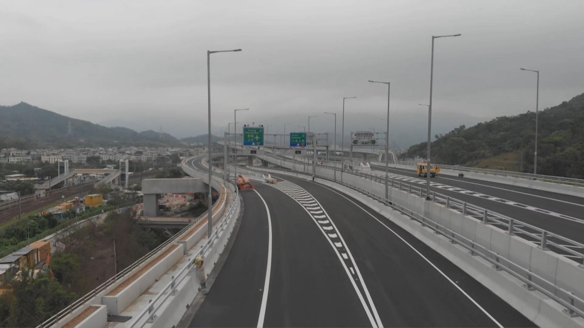 香園圍公路本月26日通車