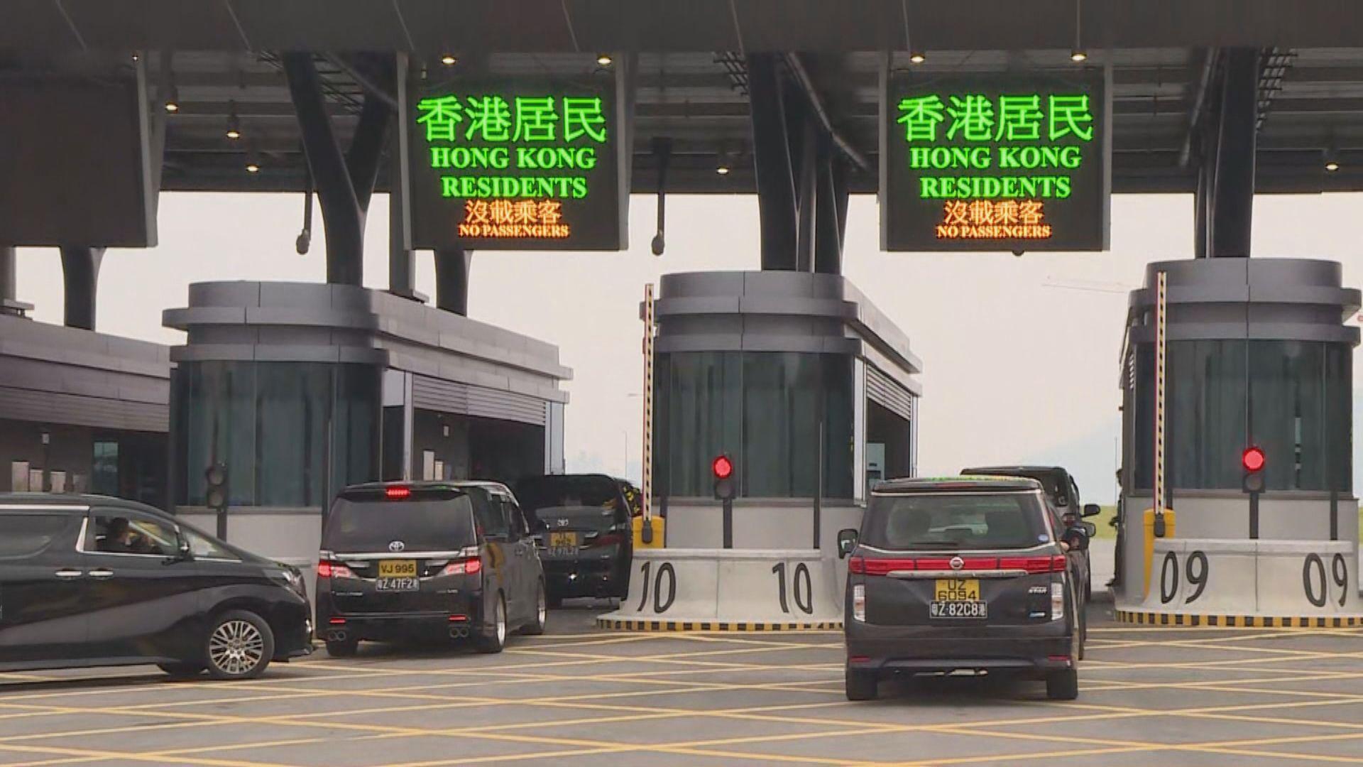 港珠澳大橋農曆年假小型客車免費通行