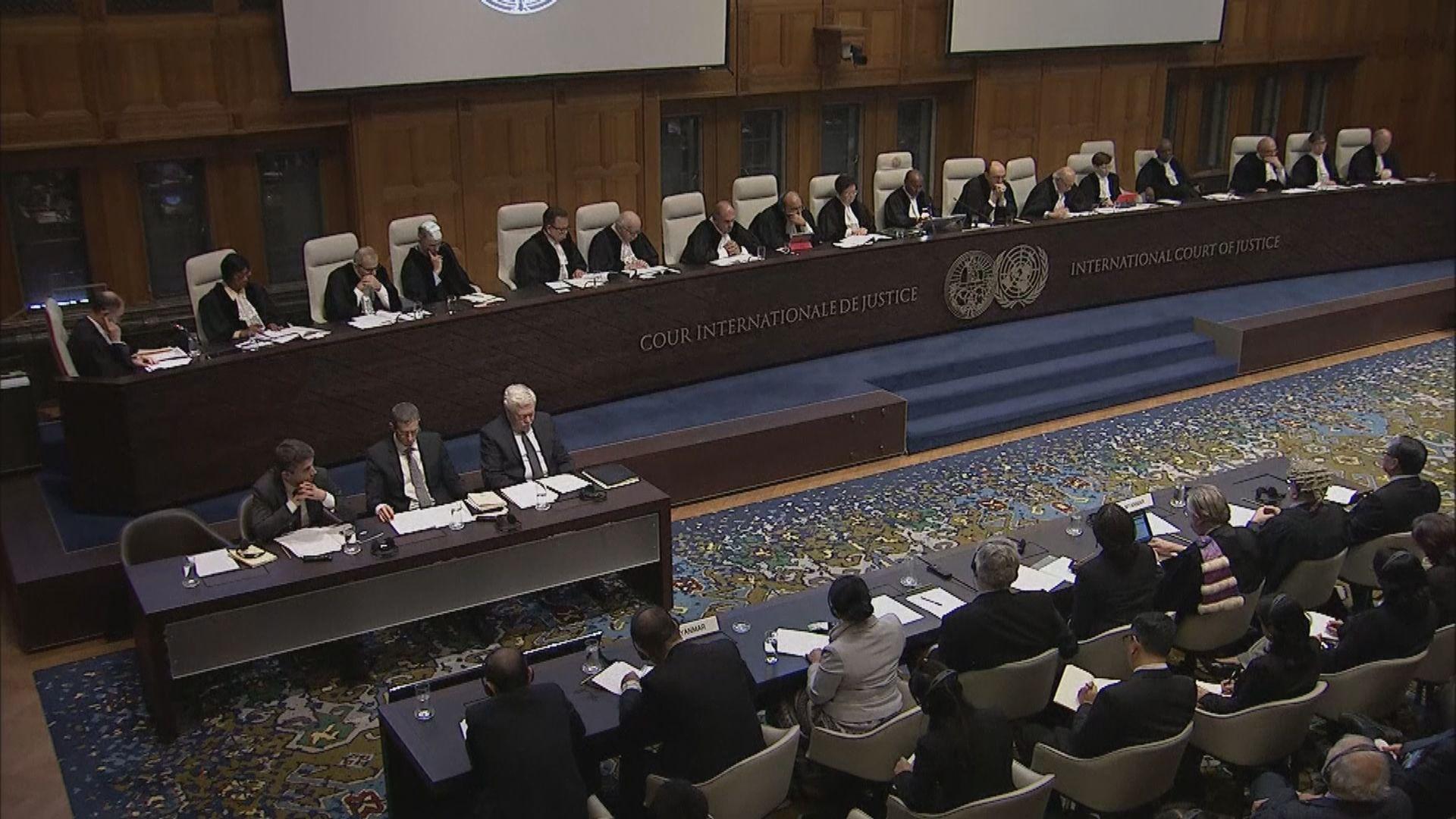 國際法院下令緬甸採取措施保護羅興亞人